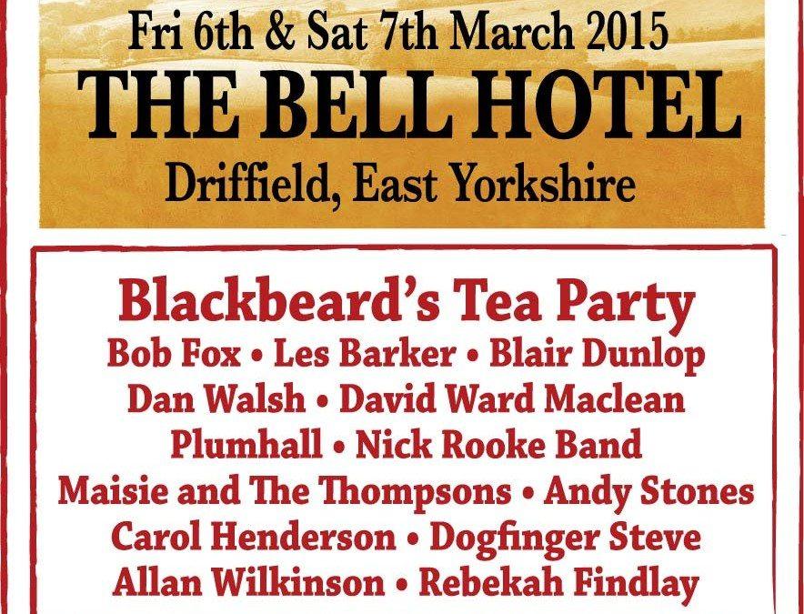 March Folk Weekend 2015 poster